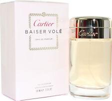 BAISER VOLE BY CARTIER 3.3/3.4 OZ EDP SPRAY FOR WOMEN NEW IN BOX