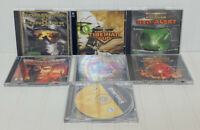 Command & Conquer Lot 7 Games Tiberian Squad, Red Alert, Generals Jewel Cases