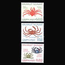 Greenland 1993 - Crabs Marine Fauna - Sc 256/8 MNH