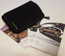 Genuine MERCEDES A CLASS (2008–2012) MANUAL OWNERS GUIDE HANDBOOK & WALLET
