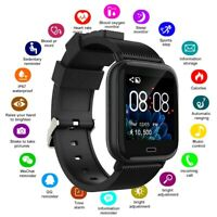 Smart Watch Bluetooth Heart Rate Blood Oxygen Pressure Sports Bracelet Fitness