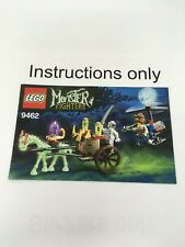 ONLY instructions Lego 9462 The Mummy Monster Fighters; no bricks no minifigures