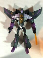 Transformers Animated Series Voyager Class Skywarp Figure Hasbro