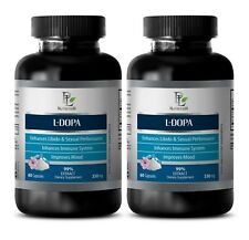 dopamine supplement - L-DOPA 99% EXTRACT 350mg - improve mental alertness -2 Bot