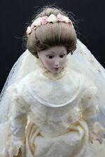 "Franklin Mint ""Victorian Bride"" 22"" Doll 1984 Premier Edition"