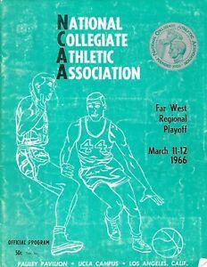 1966 NCAA Far West Regional Program Utes Advance to Final Four!!