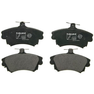 Disc Brake Pad Set-SST Front Federated MD837