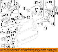Acura HONDA OEM 97-99 CL-Interior Inside Door Handle Left 72160SY8A01ZA