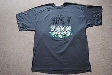 Deftones Cebras & Roses T Shirt XL Nuevo Oficial alrededor de la piel de adrenalina de Metal