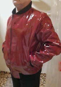 PVC  Regenjacke  Lack Regenmantel Raincoat, Regencape XL