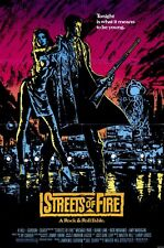 STREETS OF FIRE Movie POSTER 11x17 Michael Pare Diane Lane Rick Moranis Amy