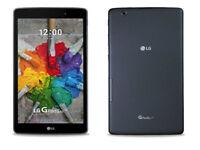 LG G Pad 3 III 8.0 16GB Black/Indigo WiFi + GSM Unlocked FHD Android V522, V525