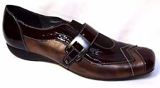 UTV Patent Leather Flats sz 6.5 / 37 very chic quality French shoes comfy BNIB!