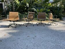 Eames Aluminum Group Management Chairs Tan Eames Office Edition 4
