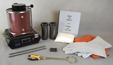 3 Kg Gold Melting Furnace Basic Starting Kit Melt Gold and Silver Pouring Kit