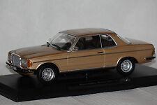 Mercedes 280 CE C123 1980 goldmetallic 1:18 Norev neu & OVP 183587