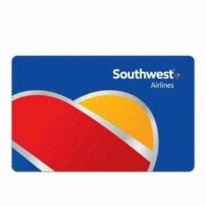 southwest airlines Gift Card 100.00