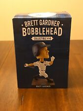 New York Yankees Bobblehead Brett Gardner Edition from 2018 New in Box