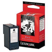 Lexmark 34 Black Ink Cartridge - 18C0034