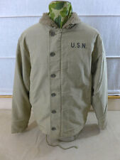 US ARMY / NAVY WW2 N-1 DECK JACKET (khaki) sailor vintage clothing Windjacke