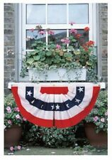 """18"""" x 36"""" PATRIOTIC AMERICAN FLAG BUNTING - Rugged 2 Ply Polyester"""