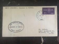 1960 Limerick Ireland First Flight Cover FFC Shannon To Boston Irish Airlines