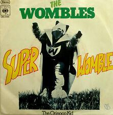 "7"" 1975 RARE IN MINT- ! THE WOMBLES : Super Womble"