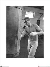 Time Life Print Steve McQueen - Boxing Art 60 x 80cm