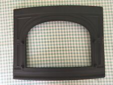 Vintage Early 1980's Vermont Castings Vigilant Wood Stove Front Piece