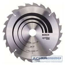 BOSCH, lame pour scie 254mm 24WZ/N rabattable GCM 10 J 0601B20200 à onglets