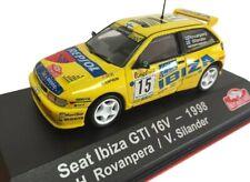 Seat Ibiza GTI 16V Rovanpera 1998 Rally Montecarlo coche 1:43 Atlas Diecast
