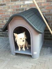 Plastic Dog/Cat Kennel Outdoor & Indoor Puppy House Shelter Small Pets Cabin