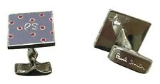"""Paul Smith Sterling Silver """"PS"""" Dots Cufflinks"""