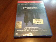 """dvd film  """"MYSTIC RIVER"""" nuovo ed ancora imballato"""