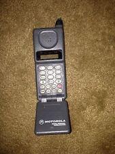 New listing Vintage Motorola Digital Personal Communicator Flip Cell Phone Analog Retro 1980