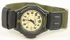 Casio Analog Green FORESTER Watch with Light FT-500WVB-3BV Cloth Band 100M New