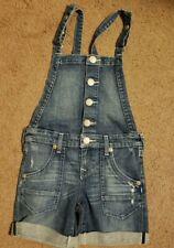 NWOT True Religion Girls Short Overalls, Size S