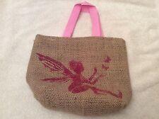 HAND Crafted Fata Borsa regalo fatto con sacco caffè Ragazze Festa o Shoe Bag