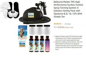 BRAND NEW, NEVER USED Bellocio Spray Tan System STILL IN ORIGINAL, UNOPENED BOX!