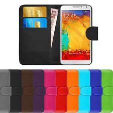 Unifarbene Handyhüllen & -taschen aus Kunstleder für das Samsung Galaxy Note 3