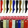 For Womens Trouser Socks Stretchy With Spandex Opaque Lot Knee High Comfort Band
