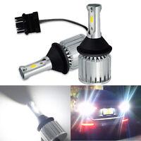 LEDIN High Power 3157 3156 COB LED Bulb Back Up Reverse Light 25W 6000K 3057 3056