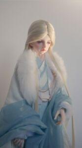 Ancient Costume 1/3  1/4 1/6 BJD Wig Doll Hair Wig Cosplay 60cm L Sa