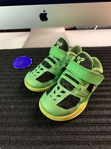 Nike Kobe Bryant Mentality Kids Size 7C Blue Athletic Comfort Walking Green
