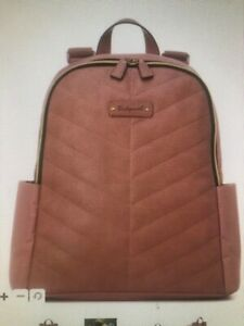 Babymel London Gabby Dustry Pink BM5789 Backpack Changing Bag New