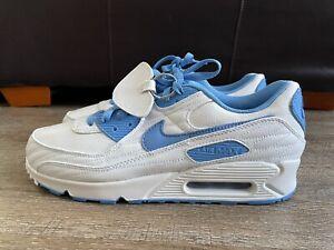 Nike Air Max 90 ID By You University Blue White Men's Sz 12 DJ3176-991