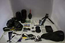 Nikon D3400 DSLR Camera BUNDLE ****LOOK****