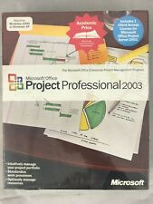 Microsoft Office Project Professional 2003 WIN32 English AE CD for Win. 2000/XP