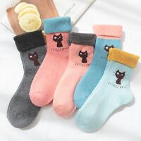 5//10 pairs Mongolia Cashmere woollen knee-socks revers Women/'s Socks Warm Wool