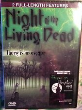 NIGHT OF LIVING DEAD/HOUSE ON HAUNTED HILL (DVD,NEW IN ORIGINAL SHRINK WRAP)2005